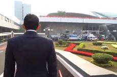Hadiri Sidang Tahunan MPR, Sandiaga Terlihat Jalan Kaki ke Gedung Parlemen
