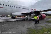 Ban Amblas, Pesaw   at Batik Air Gagal Terbang di Manokwari