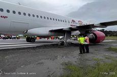 Pesawat Batik Air yang Tergelincir di Manokwari Berhasil Dievakuasi