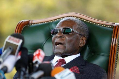 Muncul Sehari Sebelum Pemilu, Mugabe Serukan Warga Tak Pilih Eks Partainya