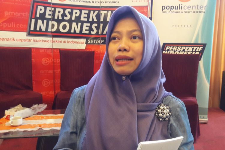 Direktur Eksekutif Perkumpulan untuk Pemilu dan Demokrasi Titi Anggraini.