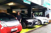Mitsubishi Pasang Quick Charger Mobil Listrik di SPBU Pertamina