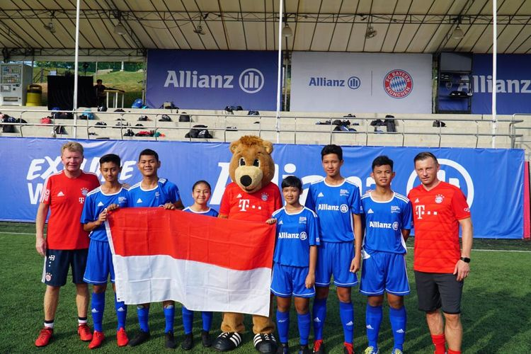 Allianz Indonesia diwakili oleh enam pesepak bola muda berbakat, yang dua di antaranya adalah perempuan, yaitu Azrazifa Kayla, Zahra Naqqiyah Primadi, Bayu Tegak Saputra, Muhammad Faiz Fahreza, Nur Yufa, dan Ravel Jerico.
