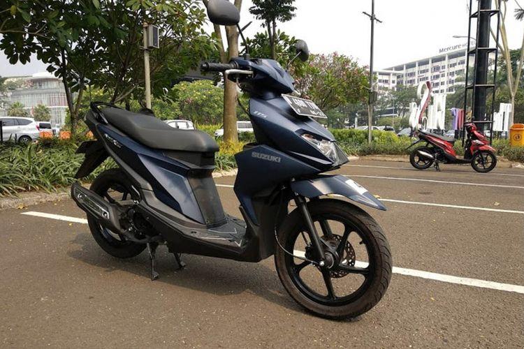 Test ride Suzuki Nex II di area dalan kota