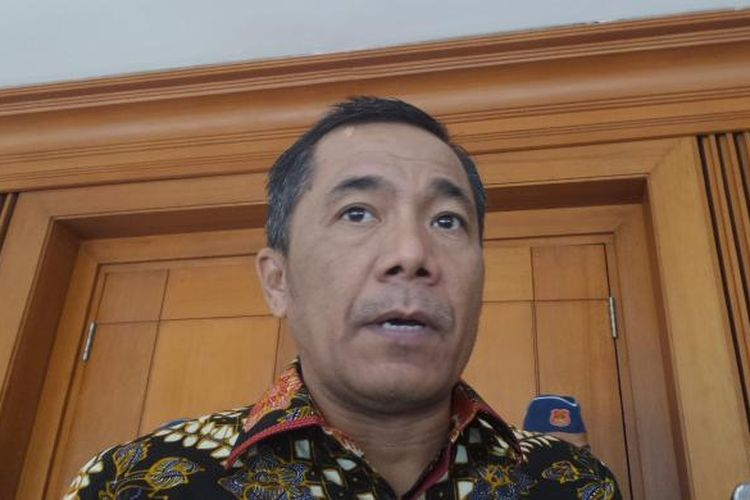 Anggota Komisi III dari Fraksi Partai Hanura, Sarifuddin Suding di Kompleks Parlemen, Senayan, Jakarta, Senin (25/7/2016).
