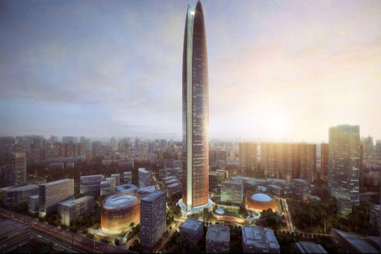 Lokasi bakal pembangunan E-Polis Rasuna Jakarta yang sebelumnya dirancang untuk Pertamina Energy Tower.