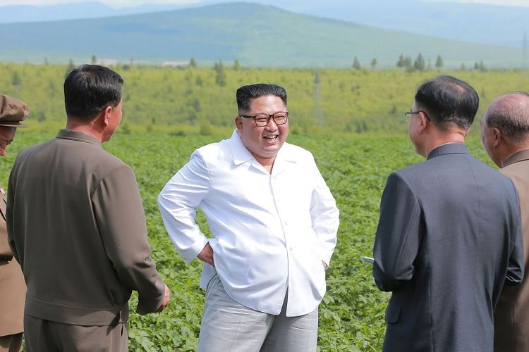 Kim Jong Un Pilih Kunjungi Ladang Kentang daripada Bertemu Menlu AS