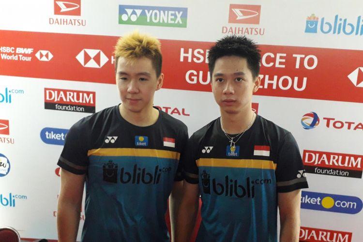 Menangi Perang Saudara, Marcus/Kevin ke Semifinal Indonesia Masters
