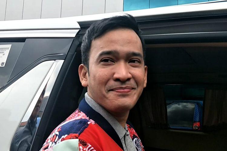 Ruben Onsu saat ditemui di kawasan Tendean, Jakarta Selatan, Selasa (5/2/2019).
