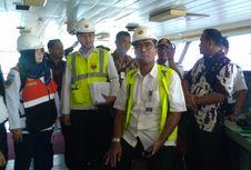 Jelang Mudik, Kemenhub Cek Kelaikan Kapal Penumpang di Pelabuhan Merak