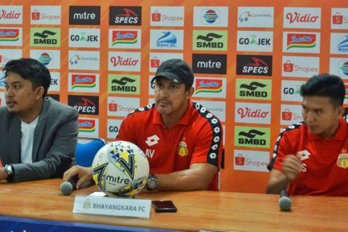 PSS Vs Bhayangkara FC, Alfredo Vera Bersyukur Timnya Bisa Curi Poin