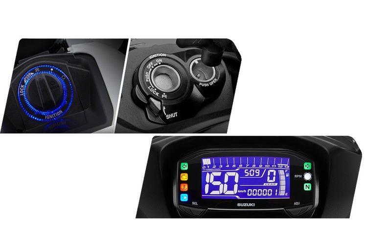 Fitur baru di GSX-R150
