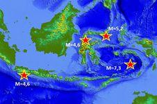Gempa Susulan Mamberamo dan Laut Banda Terjadi 50 Kali