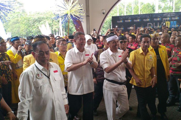 Deddy Mizwar dan Dedi Mulyadi dideklarasikan sebagai Dua DM, bakal calon gubernur dan wakil gubernur dalam ajang Pilkada Jawa Barat 2018.