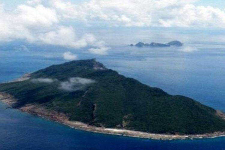 Pulau Senkaku atau dikenal dengan nama Diayou di China menjadi sumber sengketa angtara Jepang dan China.
