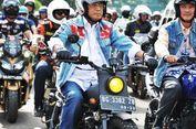 Tebar Virus Keselamatan, Menhub 'Riding Motor Kustom'
