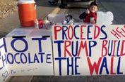 Bocah 7 Tahun Berjualan demi Galang Dana Pembangunan Tembok Trump