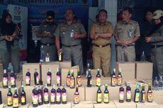 Dari Operasi Senyap, Kecamatan Tanjung Priok Sita 1.027 Botol Miras