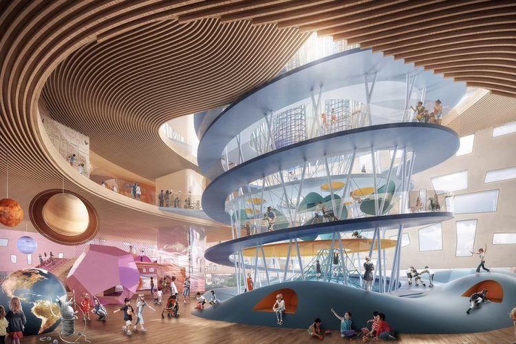Snøhetta Rancang Desain Museum Anak di Texas