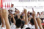 Di Balige, Ribuan Pelajar Terima KIP dari Jokowi