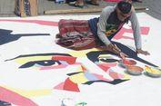 Seniman Karawang, Selesaikan Lukisan Kartini Selama 8 Jam