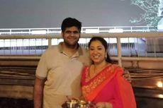 Sebelum Pesawat Jatuh, Pilot Lion Air Ungkap Kebahagiaan Lihat Istri Pakai Kain Sari