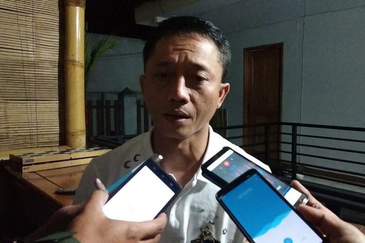 Kapolres Garut AKBP Budi Satria Wiguna saat ditemui di rumah dinasnya, Minggu (31/3/2019) malam