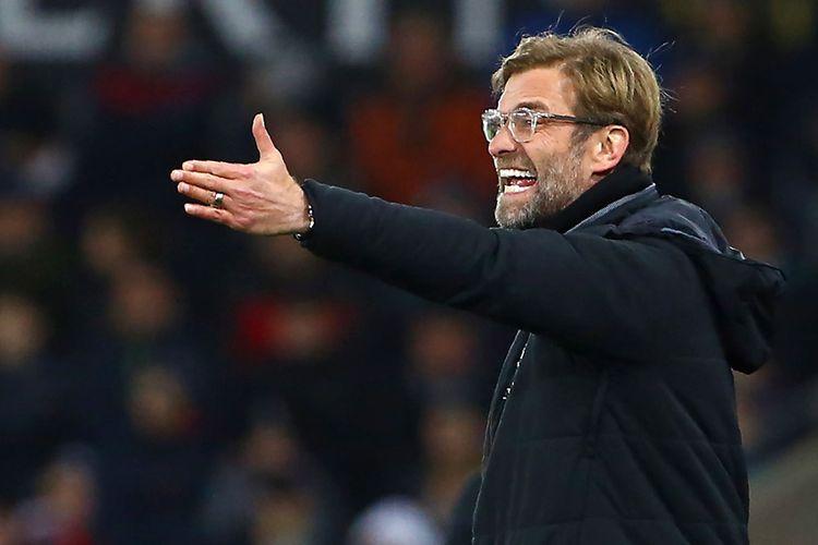 Manajer Liverpool, Juergen Klopp, Senin (13/5/2019)