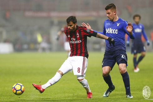 Hasil Coppa Italia, Lazio Tahan AC Milan di San Siro