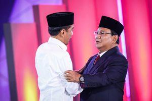 Survei Median: Elektabilitas Jokowi-Ma'ruf 47,9 Persen, Prabowo-Sandi 38,7 Persen