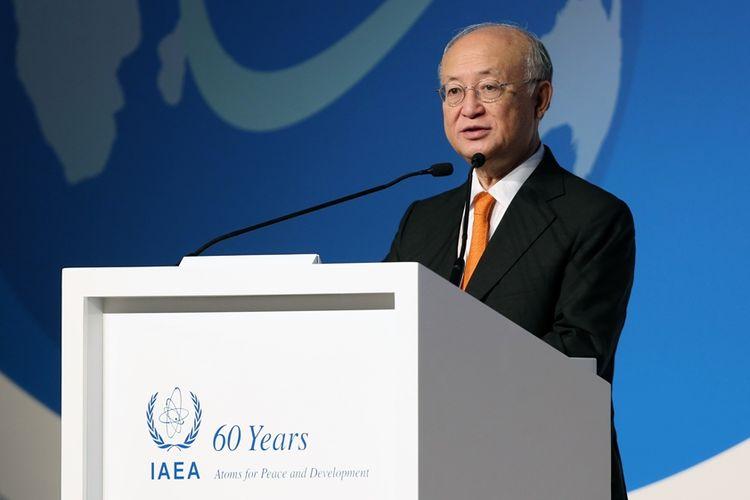 Direktur Jenderal Badan Energi Atom Internasional (IAEA), Yukiya Amano.