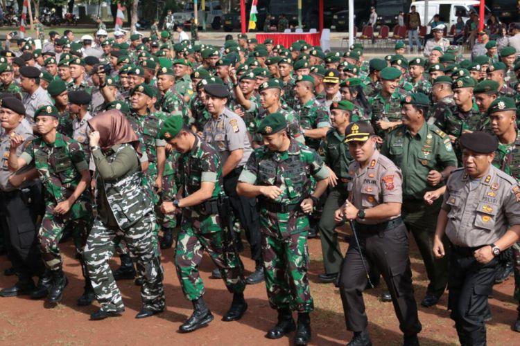 Pasca-Kasus Pengeroyokan, TNI AD Perkuat Soliditas TNI-Polri