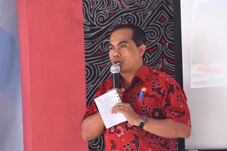 Kepala Badan Perencanaan Pembangunan Daerah Kabupaten Samosir Rudi Sabar M Siahaan