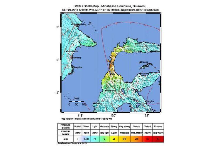Donggala, Sulawesi Tengah, sempat dilanda gempa bermagnitudo 7,7 pada Jumat, (28/9/2018)