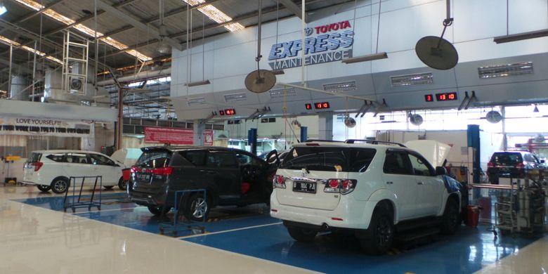 Toyota Astra Motor Workshop Sunter, Jakarta Utara.