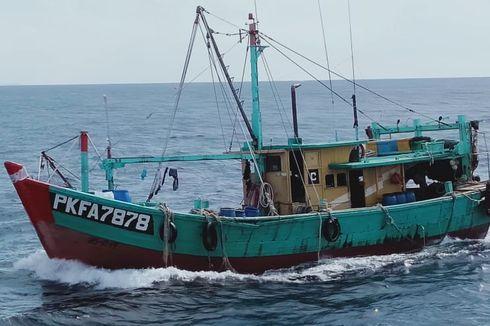 KPP Kembali Tangkap 2 Kapal Pencuri Ikan Asal Filipina