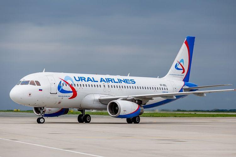 Sebuah pesawat milik maskapai Ural Airlines.