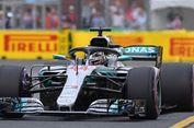 Lewis Hamilton Bakal Start Terdepan di GP Australia