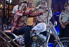 Moge 'Chopper' Jadi Lotre Kustomfest 2018