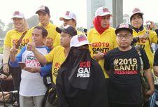 Survei: 61,1 Persen Publik Tak Setuju Gerakan #2019GantiPresiden