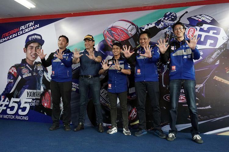 Manajemen Yamaha dan Galang Hendra