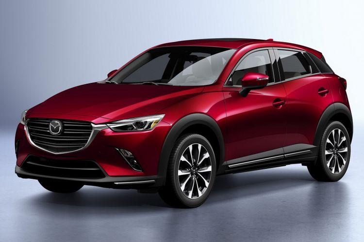 Mazda CX-3 facelift diperkenalkan di New York Auto Show 2018.