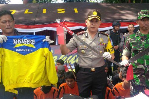 Polisi Sukabumi Amankan 41 Anggota Geng Motor