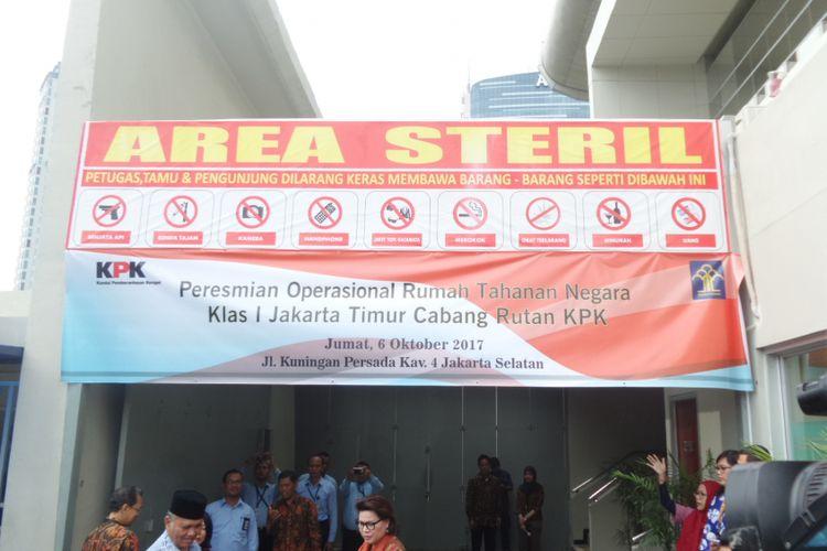 Rumah Tahanan Gedung KPK Jakarta, Jumat (6/10/2017).