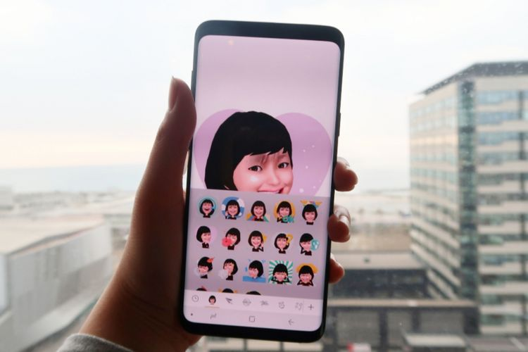 AR Emoji Samsung Galaxy S9+