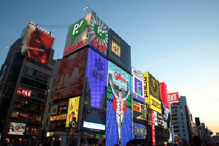 Osaka merupakan salah satu kota di Jepang yang terkenal dengan wisata perkotaannya yang unik dan indah.