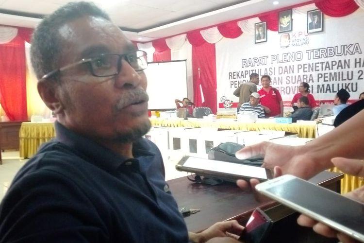 Ketua Badan Pemenangan Pemilu Partai Golkar Provinsi Maluku, Hairudin Tuarita