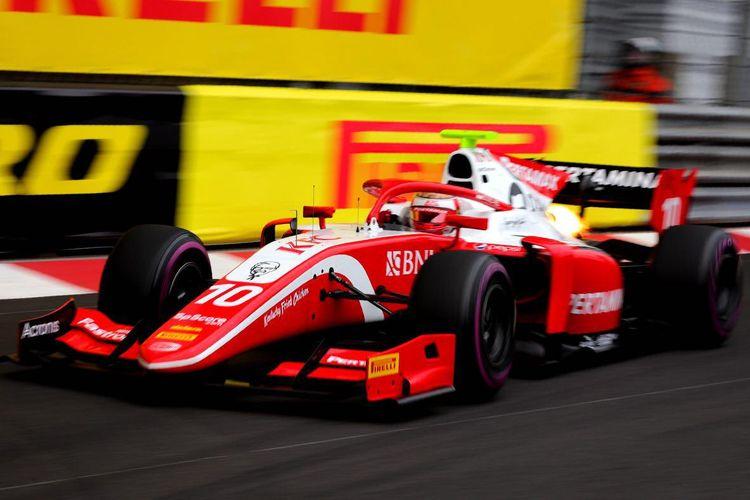 Pebalap PREMA Racing, Sean Galael, akan start dari posisi keenam pada Formula 2 2019 Monako