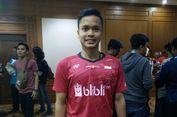 Indonesia Open 2018, Anthony Ingin Fokus Hadapi Tiap Laga