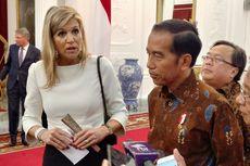 Terima Ratu Maxima, Jokowi Bahas soal Penyederhanaan Sistem Keuangan